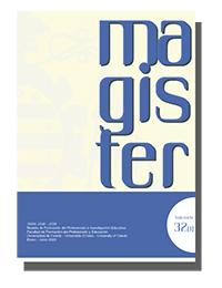 Cubierta revista Magister