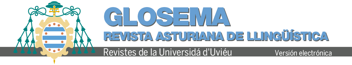 Logo revista Glosema