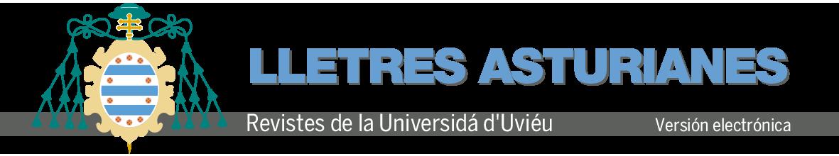 Logo Revista Lletres Asturianes